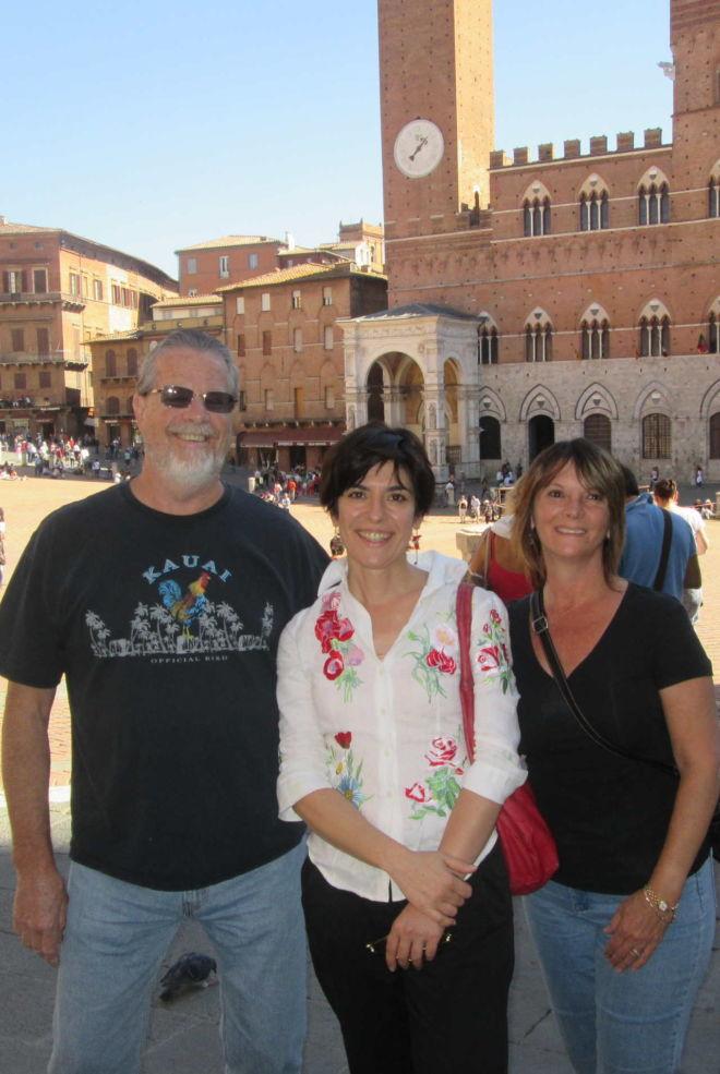 Antonella Piredda Guida Turistica abilitata Siena e provincia