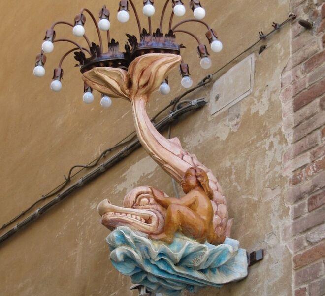 visita di Siena. Palio e contrade