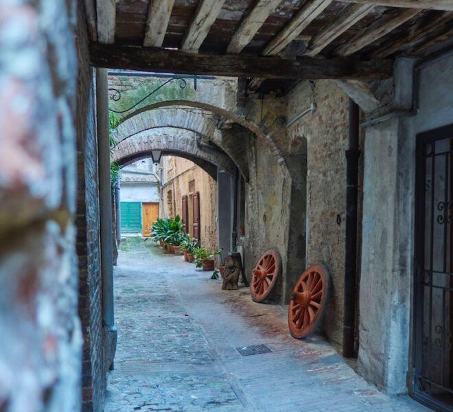 Visita guidata di Siena Segreta - vicolo delle Carrozze