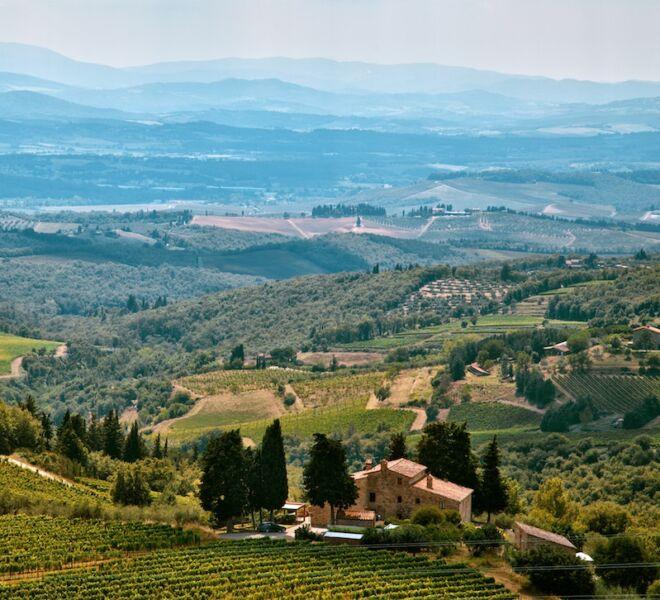 tour of Chianti: Castellina in chianti