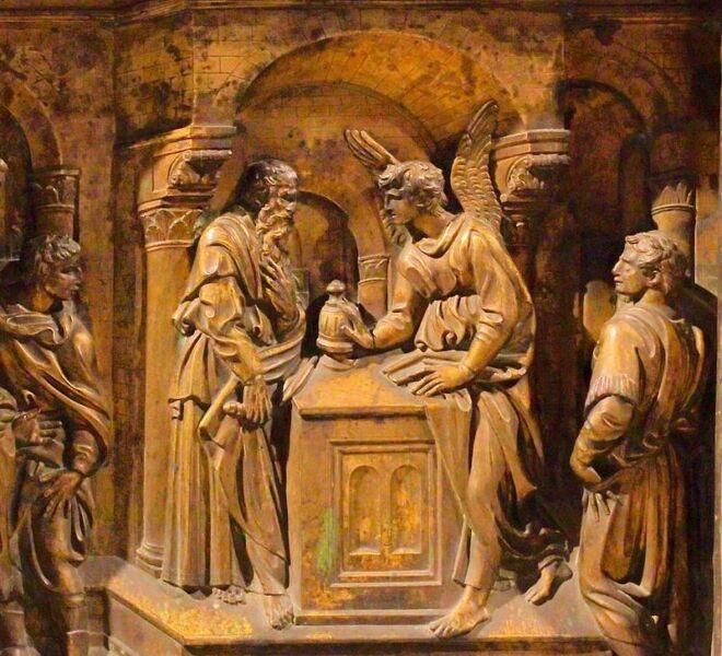 tour of secret siena: baptistery with donatello
