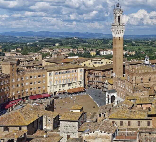 tour of Siena: view