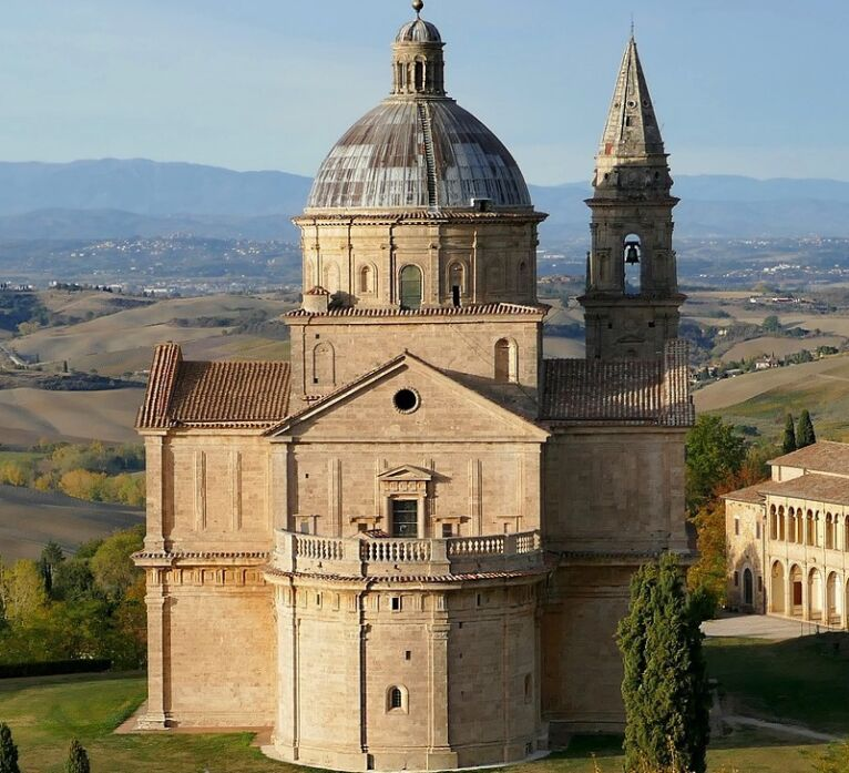 Abbeys and Monasteries in Tuscany - san Biagio in Montepulciano