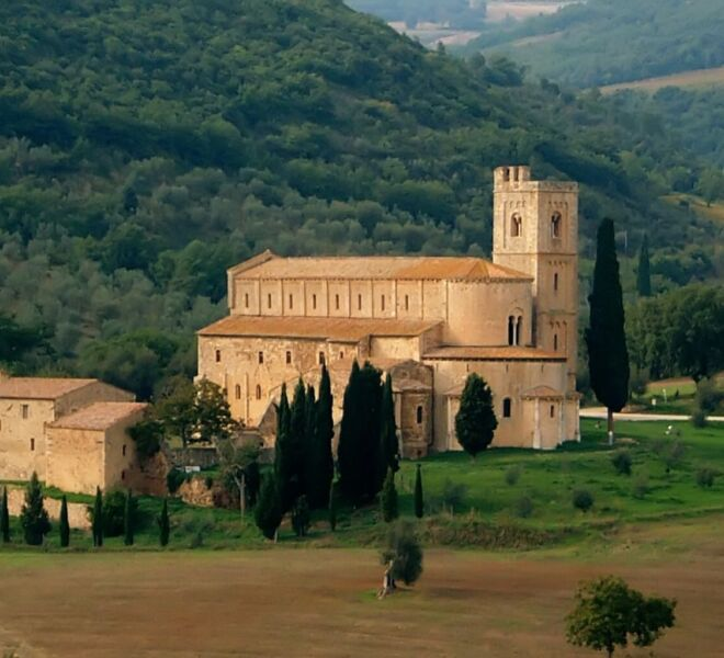 Abbeys and Monasteries in Tuscany - Sant'Antimo in Montalcino