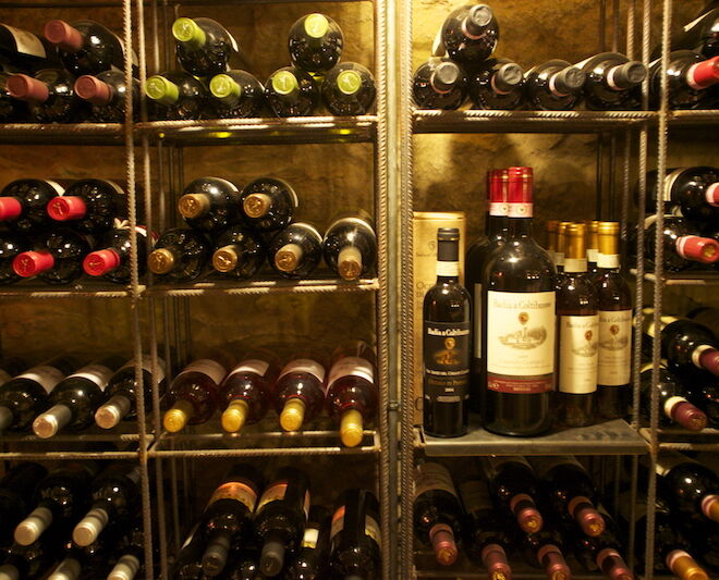 vino toscano: enoteca in chianti