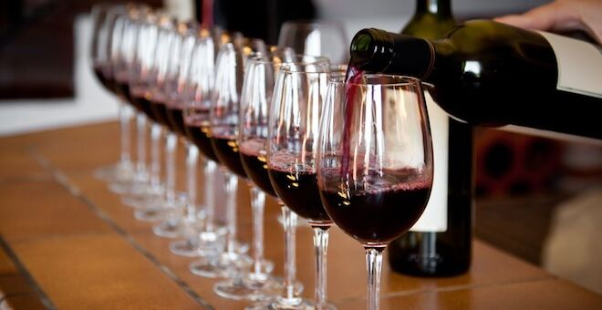 vino toscano verticale
