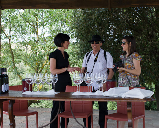 wine tour in Tuscany: wine tastings